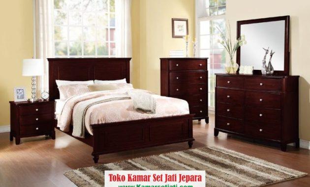 Kamar Set Minimalis Jati