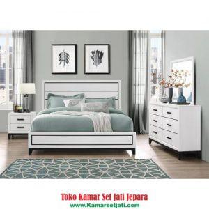 Kamar Set Minimalis Putih Klasik