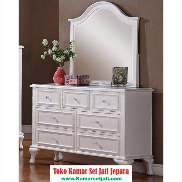 Meja Rias Modern Minimalis Warna Putih