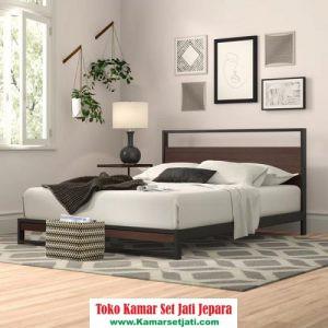 Tempat Tidur Jati Minimalis Baru
