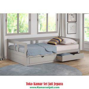 Tempat Tidur Laci Model Baru