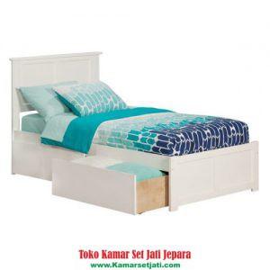 Tempat Tidur Laci Model Sekarang