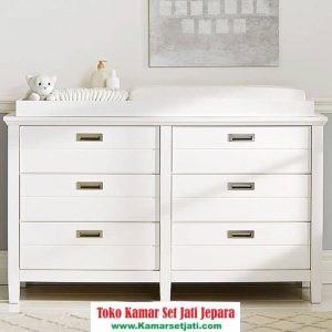 Jual Baby Tafel Minimalis Duco Putih