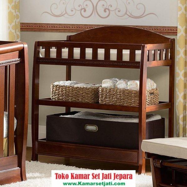 Jual Baby Tafel Minimalis Kayu Jati