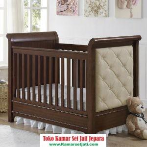 Tempat Tidur Bayi Mewah Jati Jepara
