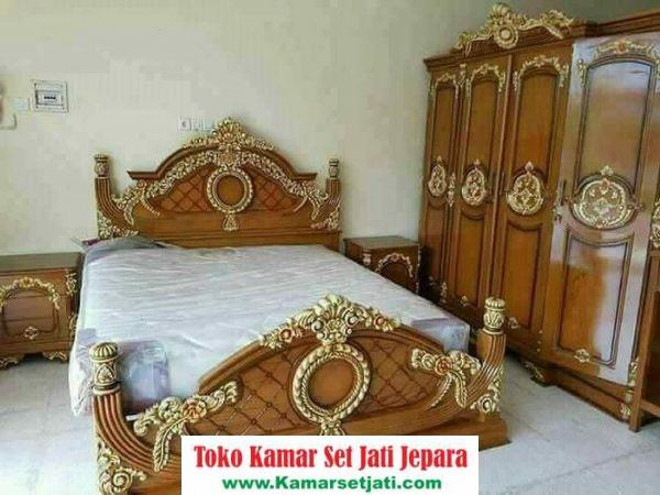 Jual Set Tempat Tidur Mewah Elegant
