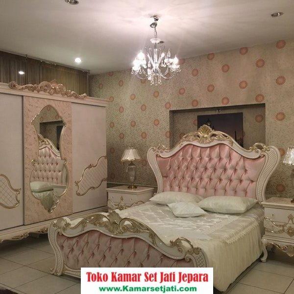 Set Tempat Tidur Mewah Ukiran Jepara